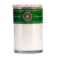 Massage & Intention Candle - Sweetgrass & Sage Smudge