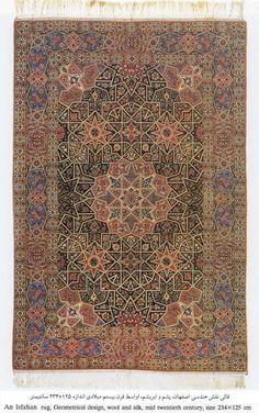 Isfahan/Iran - Persian rug, mid 20th century