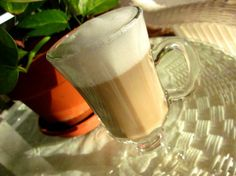 cappachino at home. brew your coffee like normal. combine 1 cup milk and 1 teaspoon sugar, heating in the microwave for 2 minutes. whip milk mixture until fluffy then add to coffee.
