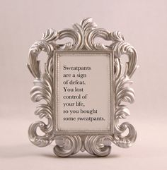 Items similar to Custom Framed Quote Karl Lagerfeld CHANEL Fashion Quote motivational inspriational home decor gift dorm office decor desk decor ornate frame on Etsy Game Of Thrones Tattoo, Game Of Thrones Arya, Real Madrid, Karl Lagerfeld, Home Quote, Game Day Quotes, Tina Belcher, Framed Quotes, Round House