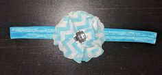 Check out this item in my Etsy shop https://www.etsy.com/listing/487776500/blue-chevron-headband