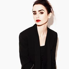Lily Collins for Gritty Pretty Magazine. Pinned by @lilyriverside