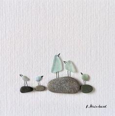 Kathrins Kieselkunst #seaglasscrafts