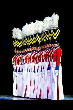 """Love the Rockettes at Radio City Music Hall.  Performing to the """"March of the Wooden Soldiers""""."""