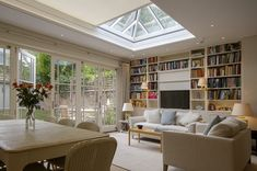 Roof Lantern Electric Blinds fitted in Hampshire, Surrey, West Sussex & London. Create shade with our custom made electric blinds for your roof lantern. Garden Room Extensions, House Extensions, Skylight Blinds, Skylights, Electric Blinds, Horizontal Blinds, Roof Lantern, Barn Renovation, Blackout Blinds