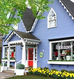 The Teazer Mahone Bay Mahone Bay is definitely the most colorful, memorable… Nova Scotia Travel, Cabot Trail, East Coast Travel, Atlantic Canada, Parks Canada, Colourful Buildings, Cape Breton, Vacation Packing, Prince Edward Island
