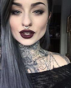 Ryan Ashley Malarkey Plus Sexy Tattoos, Girl Tattoos, Tattoos For Women, Tatoos, Beauty Makeup, Hair Makeup, Hair Beauty, Eye Makeup, Ryan Ashley Malarkey
