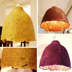 l'ortodimichelle: Lampadari vegetali
