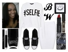 #Selfie by virtuousvessel on Polyvore featuring French Connection, Gap, Converse, Christian Dior, Eyeko, Smashbox, NARS Cosmetics and Nails Inc.