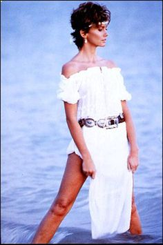 Olivia Newton-John's pictures: Photo shoot by Herb Ritts.