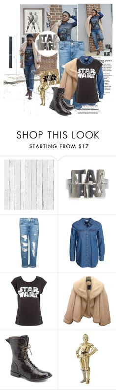 """""""Stay Calm, may the Force be with you."""" by casynella ❤ liked on Polyvore featuring NLXL, Frame Denim, Jacqueline De Yong, Christian Dior, Muveil, Børn and Episode"""