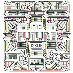 We created this piece for @cincinnatimagazine's article about the future of Cincinnati #editorial #MUTI