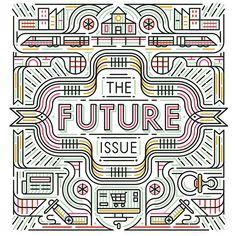 We created this piece for @cincinnatimagazine's article about the future of Cincinnati #editorial #MUTI