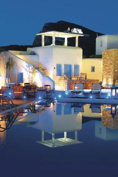 Folegandros - Chora Resort Hotel & Spa Dive Resort, Spa Hotel, Boat Tours, Hotels And Resorts, Diving, Greece, Castle, Mansions, Luxury