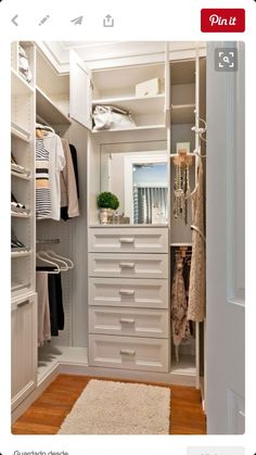21 Incredible Small Walk-in Closet Ideas & Makeovers |