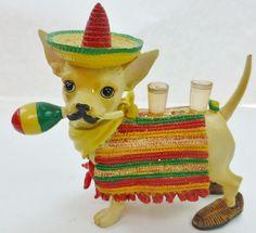 Aye CHIHUAHUA Ah Mexico Dog #13325  Retired Resin Figure Westland - http://collectiblefigurines.net/aye-chihuahua/aye-chihuahua-ah-mexico-dog-13325-retired-resin-figure-westland/