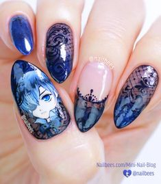 Classy summer nail art is in vogue because summers give you unlimited options to flaunt your nails in all possible peppy styles. Try these amazing spring nail art ideas. Spring Nail Art, Spring Nails, Summer Nails, Red Nail Art, Long Nail Art, Black Nail Designs, Cute Nail Designs, Nail Swag, Maquillage Cosplay Anime