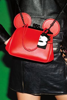 Coach and Disney collaborate on a fun new Mickey Mouse-inspired fashion collection. See the full lookbook and all the leather handbags here: