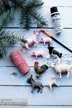 Get set to celebrate the holidays with this brand-new special issue -- Farmhouse Style Christmas! Packed with festive decorating displays, fun DIYs, exciting entertaining ideas and gift-giving inspiration, it will help make your season joyful. Country Sampler, Festival Decorations, Farmhouse Style, Entertaining, Seasons, Make It Yourself, Christmas Ornaments, Joyful, Holiday Decor