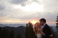 Megan and John's Northstar Wedding #mountainwedding #zephyrlodge #northstar