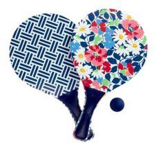 Paddleball Set | Vera Bradley. Such a fun beach game! Always a family favorite - $18 *Got on clearance at Hallmark. They were fun at the beach!