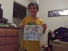 My grandson, Alex. He's autistic and AWESOME!