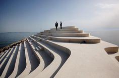 Cape Square Durrës 'Sfinxit' designed by BOOM Landscape and City Förster in Albania