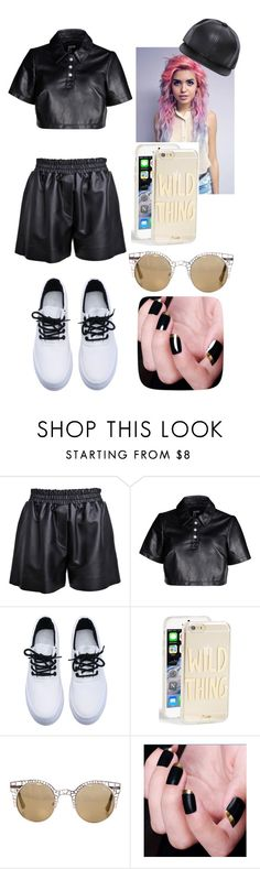 """Untitled #64"" by hampster12 ❤ liked on Polyvore featuring Acne Studios, Hood by Air, Sonix, Quay, women's clothing, women's fashion, women, female, woman and misses"