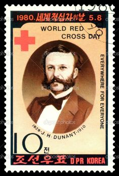 Анри Дюнан - инициатор создания организации Международного комитета Красного Креста.
