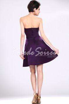 Nouveau bustier violet robe de demoiselle Party Dress [ROBECOCKTAIL0063] - €98.56 : Robe de Soirée Pas Cher,Robe de Cocktail Pas Cher,Robe de Mariage,Robe de Soirée Cocktail.