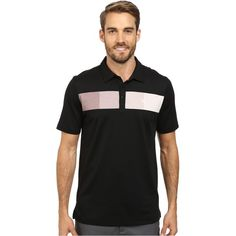 TravisMathew Chachi Polo (Black) Men's Short Sleeve Pullover ($65) ❤ liked on Polyvore featuring men's fashion, men's clothing, men's shirts, men's polos, black, mens shawl collar pullover, mens moisture wicking polo shirts, mens short sleeve shirts, mens pullover and mens pullover shirts