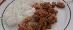 Recept Pikantní nudličky Grains, Menu, Rice, Treats, Chicken, Food, Menu Board Design, Sweet Like Candy, Goodies