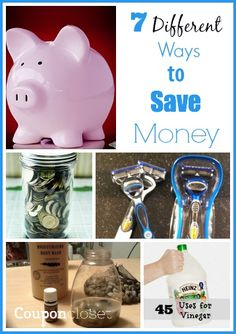 7 different and easy ways to save money this year - plus more tips included in the linky! Check it out!