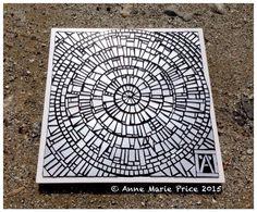Conciencia by Anne Marie Price #AMPart #mosaic #mirror #AnneMariePrice #art #LA #CA