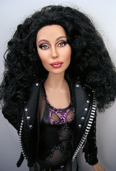 Prego: Hi Everyone :) I'm sharing my Cher Barbie Repaint...