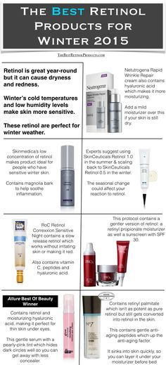 The Best Retinol Products: The 7 Best Retinol Products For Winter | Read more on TheBestRetinolProducts.com!