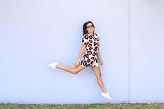 Converse + dress hops