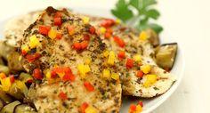 Buitoni Idea per…Papiro per pollo alla mediterranea con melanzane al sesamo