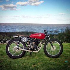Moto Cafe Racer, 125cc Sapucai. - Año Custom / Chopper - 4000 km - en MercadoLibre