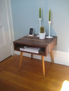 Jeremiah Collection Mid Century Side Table von jeremiahcollection, $450.00
