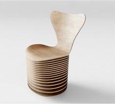 """Hace sesenta años, Arne Jacobsen diseñó Series 7 Chair: el """"Sevener"""". A diferencia de muchos otros diseños de Jacobse..."""