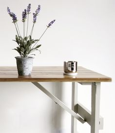This vintage trestle table is made to a traditional design using reclaimed timber. The gorgeous timber tops are sanded back and made good while the legs are painted in chalk paint. Creative Desks, Traditional Design, Reclaimed Timber, Handmade Table, Vintage Inspired Design, Table, Trestles, Trestle Table, Vintage Furniture