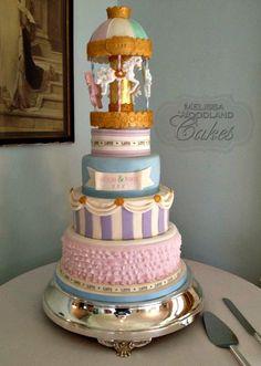 Carousel Cake - by Melissa Woodland Cakes @ CakesDecor.com - cake decorating website