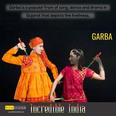 Garba and Dandiya Raas are also popular in the United States. #IncredibleIndia #HireCruise #ReturnToIndia
