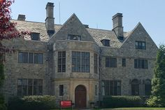 Bellarmine Hall at Fairfield University, CT - Society of Jesus - Wikipedia Fairfield University, Society Of Jesus, Sign, Mansions, House Styles, Manor Houses, Villas, Signs, Mansion