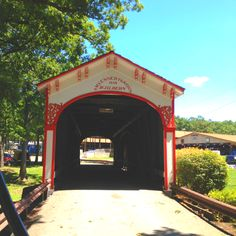 Lake County, Crown Point Indiana covered bridge