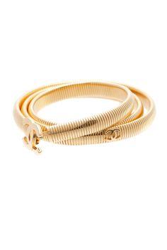 Chanel Gold-Tone CC Belt