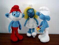 Smurfalicious Smurfs Smurfed... (free downloadable pattern)