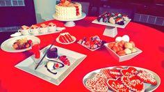 Valentine's Day Desserts from Aerie Restaurant.