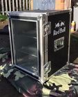 red bull table top fridge flight case style